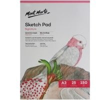 Sketch Pad 150gsm 25 sheet A4 MSB0055