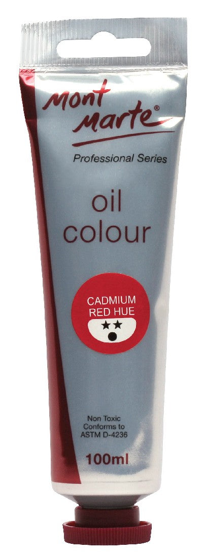 Oil Paint 100mls Cadmium Red Hue
