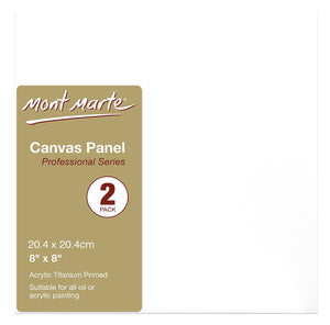 Canvas Panels 2 pk 20.4x20.4cm CMPL2020