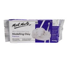 Air Hardening Modelling Clay White 500gms