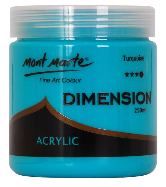 Dimension Acrylic 250mls - Turquoise