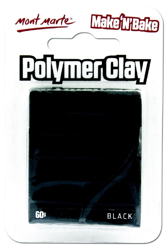 Make n Bake Polymer Clay - Black MMSP6005