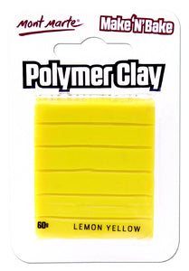 Make n Bake Polymer Clay - Lemon Yellow