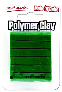 Make n Bake Polymer Clay - Basic Green MMSP6023