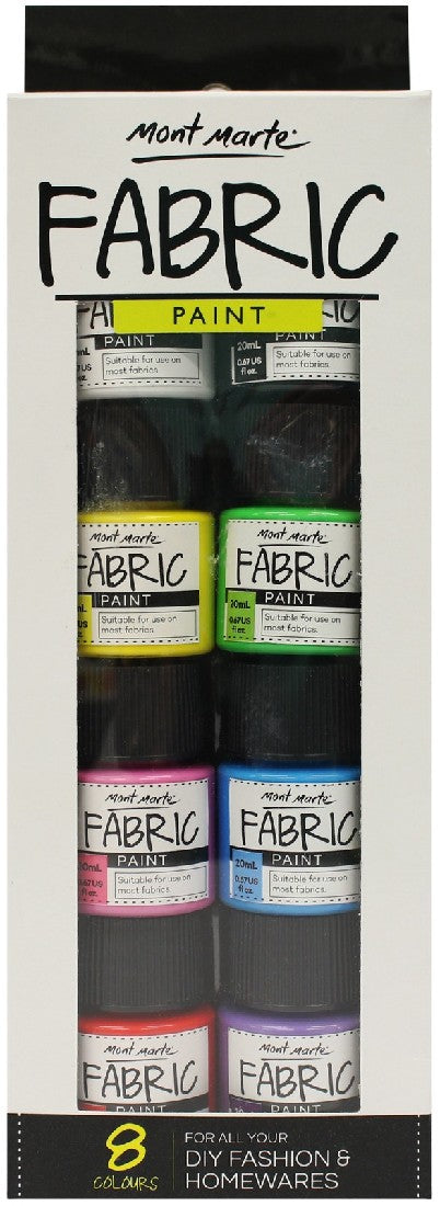 Fabric Paint Set 8pc x 20ml