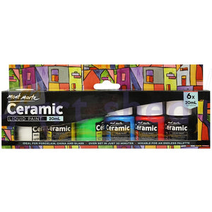 Ceramic Liquid Paint 6pce x 20ml