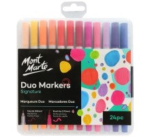 Adult Colouring Duo Markers 24pce