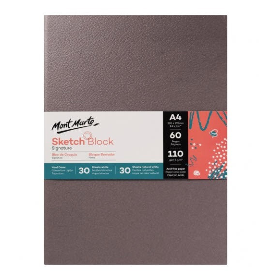 Sketch Block Hard Cover A4 60 Sheets