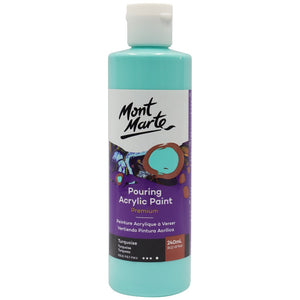 Pouring Acrylic 240ml - Turquoise