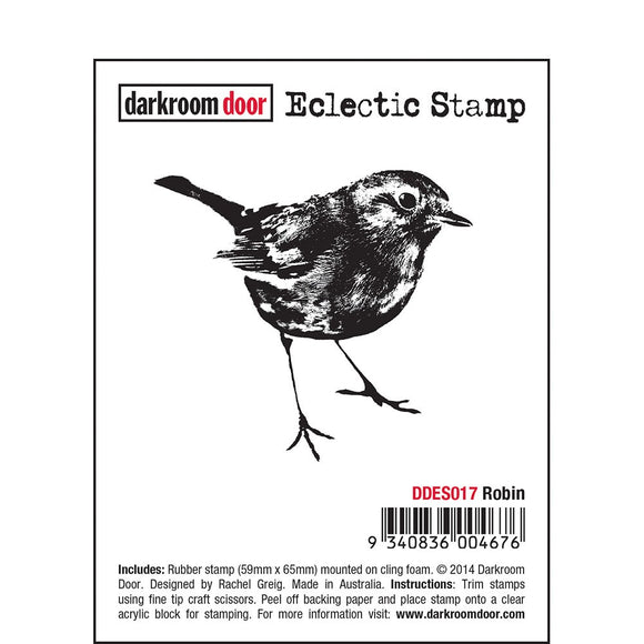 ROBIN-ECLECTIC STAMP