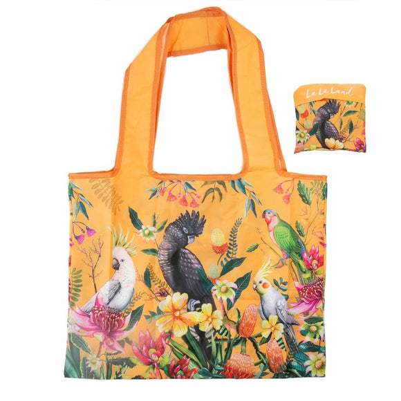 FOLDABLE SHOPPER BAG - FLORAL PARADISO