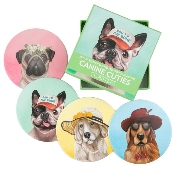 COASTERS CANINE CUTIES