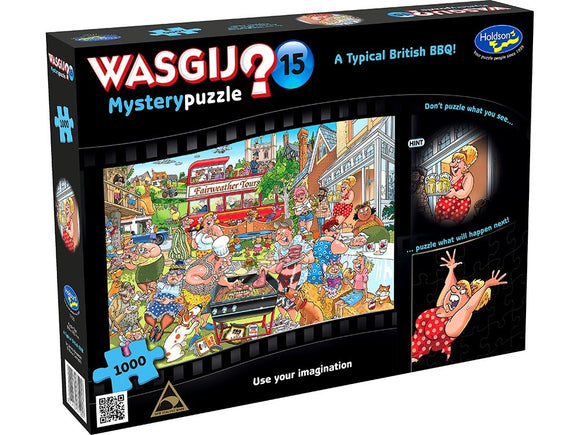 WASGIJ MYSTERY 15 - TYPICAL BRITISH BBQ