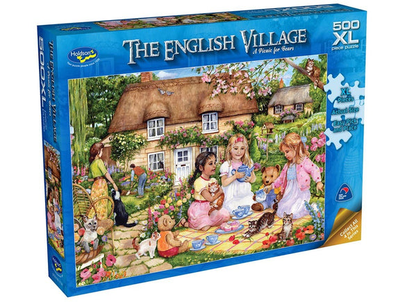 ENGLISH VILLAGE 2 A PICNIC FOR BEARS 500 XL PCE