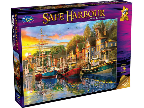 SAFE HARBOUR - LIGHTS ON THE HARBOUR 1000PCE
