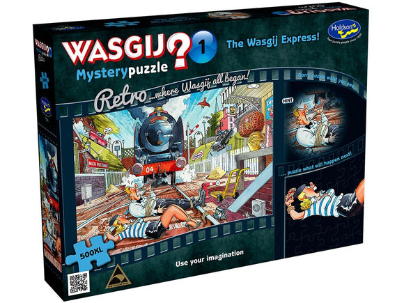 WASGIJ RETRO MYSTERY #1 THE WASGIJ EXPRESS 500 XL PCE
