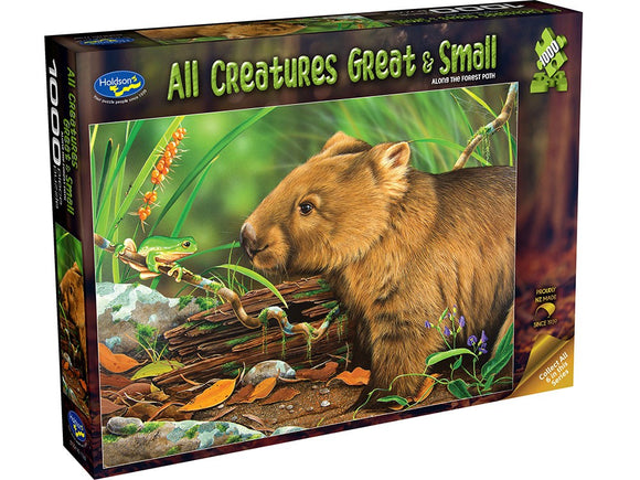 ALL CREATURES GREAT & SMALL - ALONG THE FOREST PATH 1000PCE