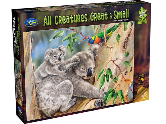 ALL CREATURES GREAT & SMALL - MAKING NEW FRIENDS 1000PCE