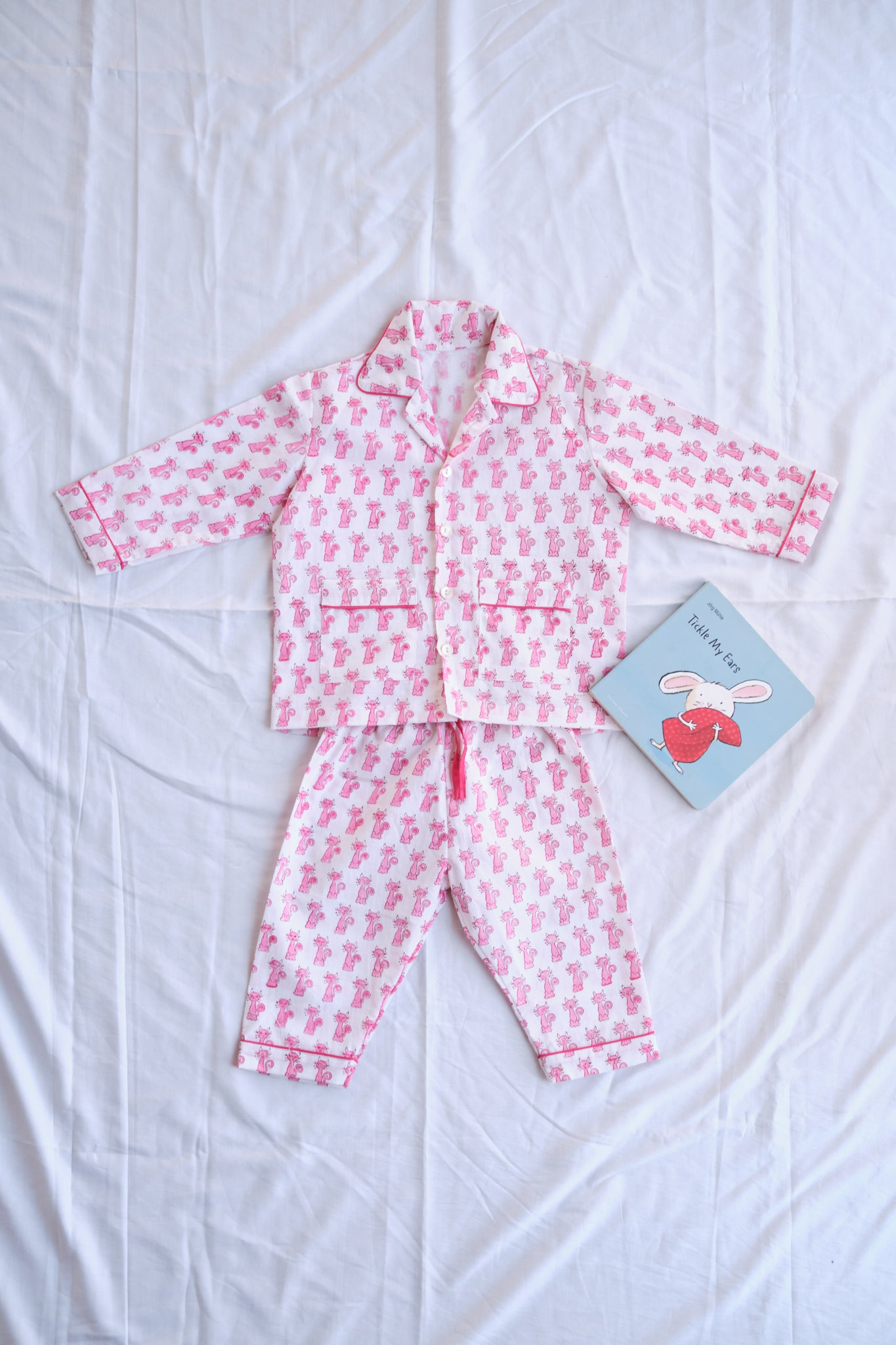 LITTLE PINK KITTY PJ SET (UNISEX)