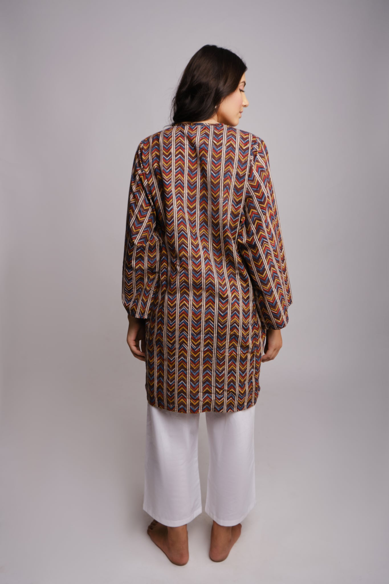 RELAXED EARTHY KURTA