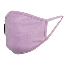 Load image into Gallery viewer, Ultra Soft Light Pink Face Mask - Kids