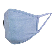 Load image into Gallery viewer, Ultra Soft Light Blue Face Mask - Kids
