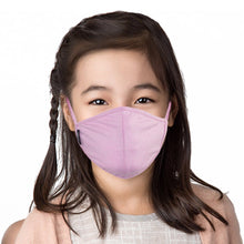 Load image into Gallery viewer, Kid wearing light pink face mask
