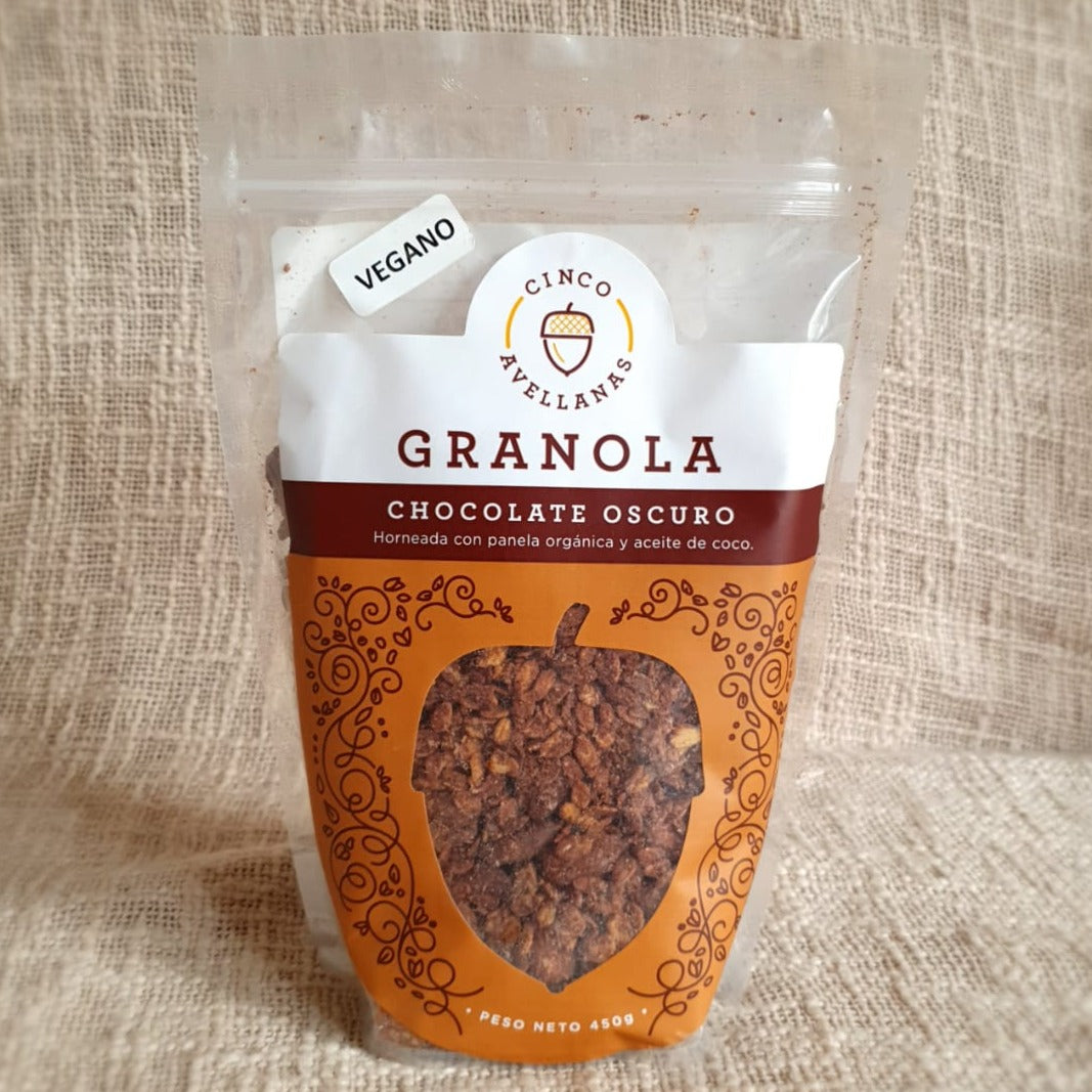 GRANOLA CINCO AVELLANAS  CHOCOLATE * 450