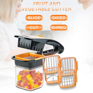The Best 5-in-1 Fruit and Vegetable Dicer Chopper (Original : DCPLUS)