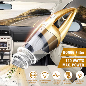 POWERFUL WET & DRY AUTO VACUUM CLEANER (ORIGINAL : DVCM)