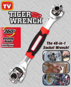 Tiger Wrench 48 in 1 Multi - Purpose Wrench (Original : TWC)