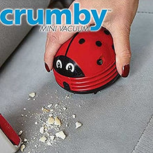 Load image into Gallery viewer, CRUMBY MINI VACUUM CLEANER FOR REMOVING DUST AND DIRT (ORIGINAL : CMB)