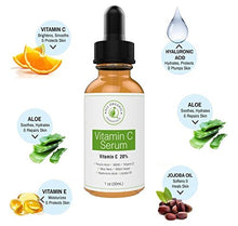 Load image into Gallery viewer, 20% Vitamin C Essence Dark Spots Cover Ultra Brightening Spotless Essential Oil Anti-age Face Care 10ML (Code: VitC)