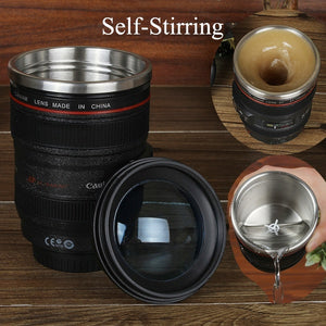 FANCY DSLR SHAPE COFFEE CUP WITH ROTATING FUNCTION (ORIGINAL : DSLRC)