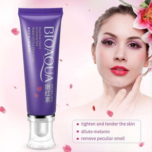 Skin Lightening Whitening Face Body Cream Private Part Intimate Bleaching Cream (Original : BAQUA)