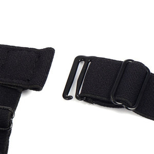 2 Pcs Men Shirt Stays Belt with Non-slip Locking Clips (Original : MSBelt)
