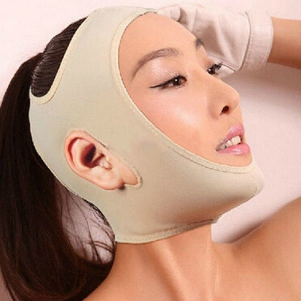 Facial Thin Face Slimming Bandage Mask Shape & Lift Reduce Double Chin (Original : FMask)