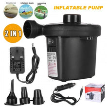 Load image into Gallery viewer, Portable 240V 12V 2-In-1 Car Home Electric Inflator Pump (Original : ALPump)