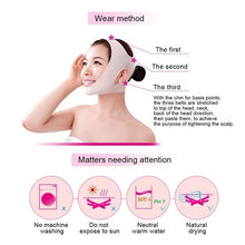 Load image into Gallery viewer, Facial Thin Face Slimming Bandage Mask Shape & Lift Reduce Double Chin (Original : FMask)