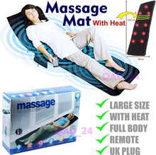 Load image into Gallery viewer, Body Massage Heating Massage Mattress Full Body Massager with Remote Control (Original : MassageC)