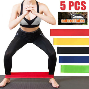 Anti slip Resistance Bands for gym for yoga workout stretching training (Original : ReBand)