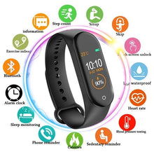 Load image into Gallery viewer, M4 Smart Band 4 Fitness Tracker Watch Sport Bracelet Heart Rate Blood Pressure Smartband Monitor Health Wristbands (Original :