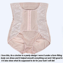 Load image into Gallery viewer, Front Hook Open Women's Shaping Pants High Waist Lifting Hip Postpartum Panties Mesh Anti-rolling Hips Corset Pants (Original : PBSLower)