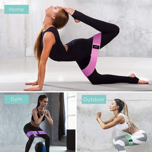 Anti slip Resistance Bands for gym and yoga workout (Original : ReBand)