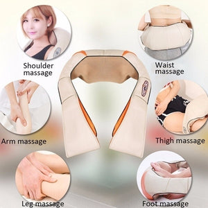 Electric Multifunctional Kneading Massager For Neck Shoulder Body (Original : NeckMassager)