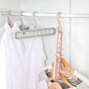 WONDER HANGER 9 Holes Multi-fuction Closet Space Saver Organizer (Original : WHan)