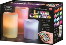 Load image into Gallery viewer, Flameless Real Wax Luma Candles (Luma)
