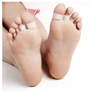 1 Pair Magnetic Silicon Diet Slimming Foot Double Toe Ring