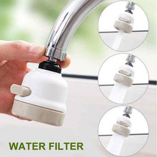 Load image into Gallery viewer, KITCHEN BATHROOM WATER SAVING ROTATION EXTENDED SHOWER HEAD (Original : KShow)