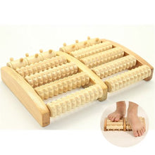 Load image into Gallery viewer, 1pcs Stress Relief Relaxation Therapy Wooden Roller Massager